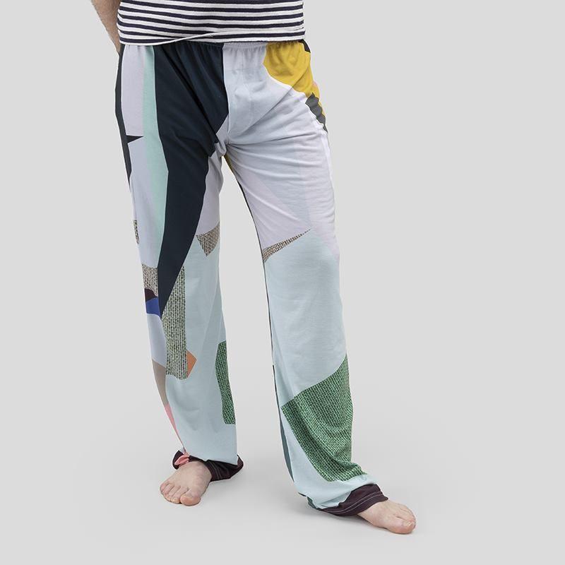 Pyjama imprimé pour homme avec design