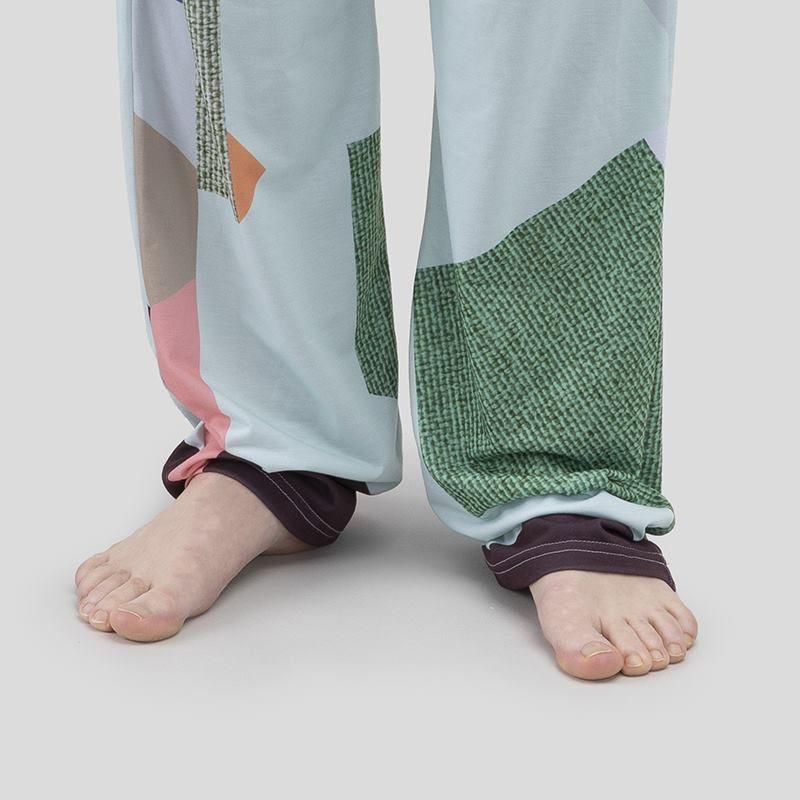 Pantalones estampados para pijama
