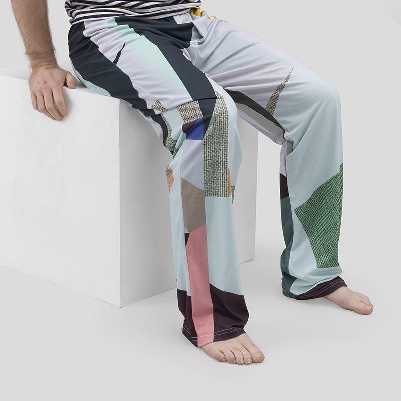 メンズパジャマ デザインプリント