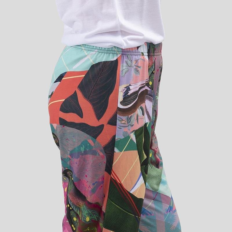 pijama pantalon diseño detalle