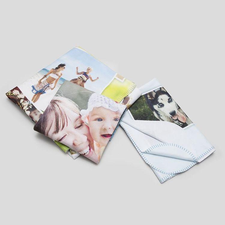 单层照片定制毛毯