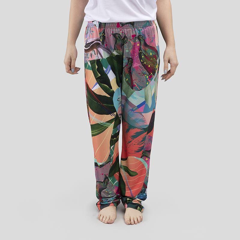 オリジナルで作成 女性用パジャマズボン