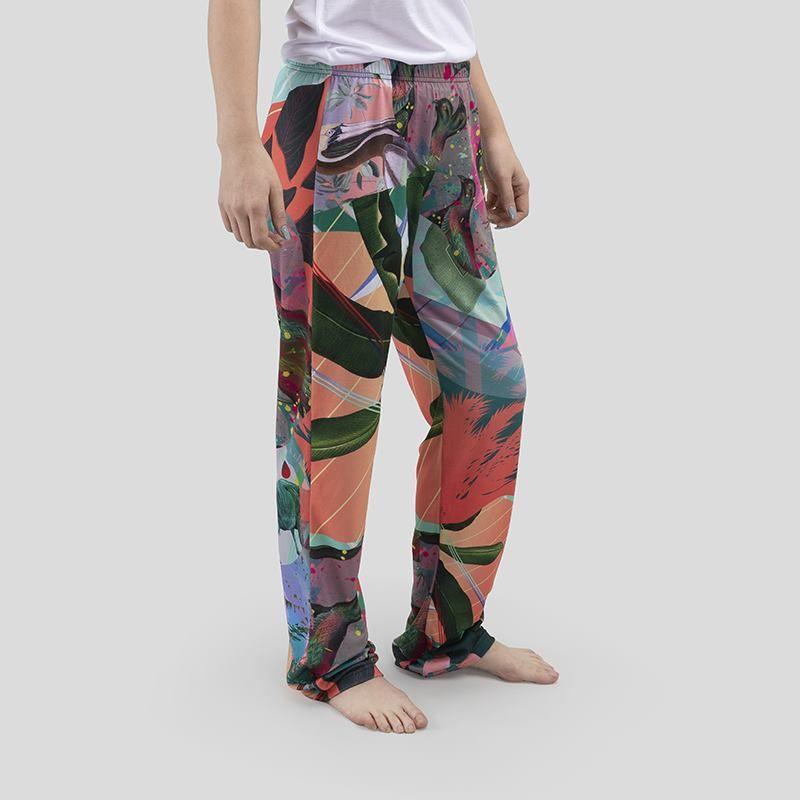 Crea pantaloni pigiama da donna