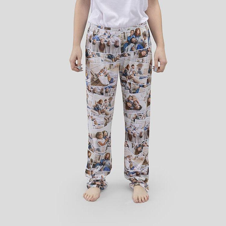 damen pyjamahose bedrucken lassen