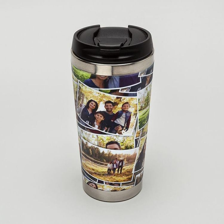 Flasque personnalisée montage photos