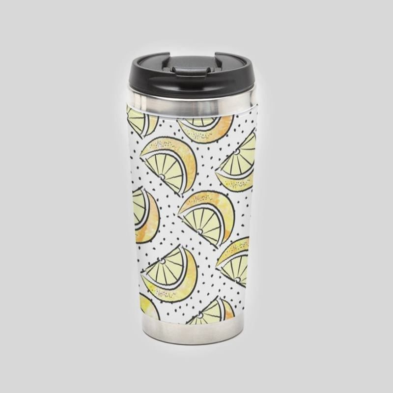 Mug de voyage original avec design amusant
