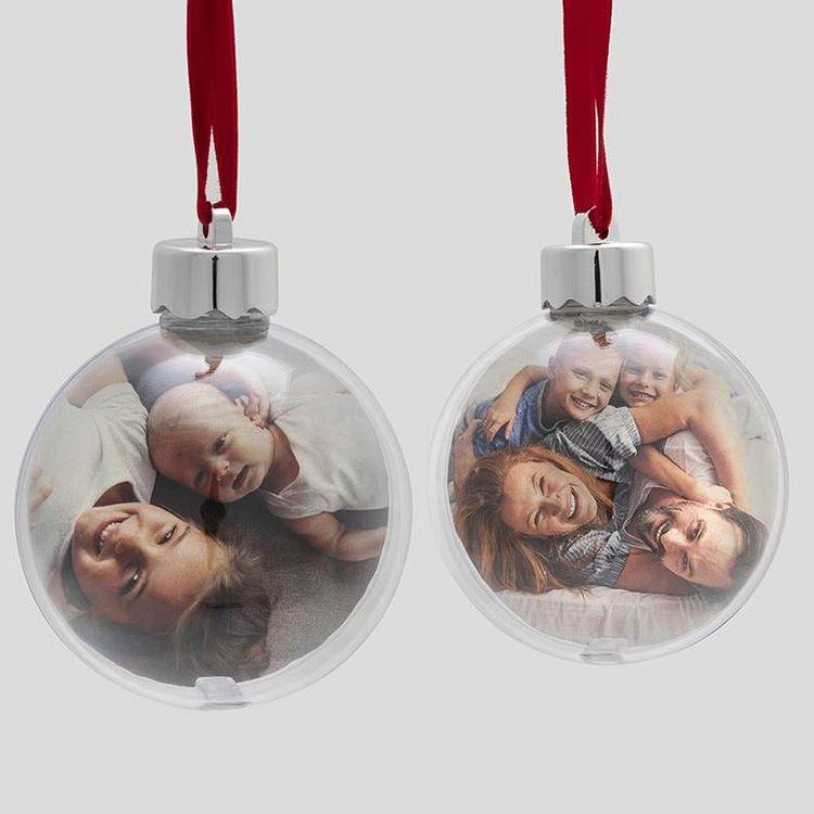 foto weihnachtskugel