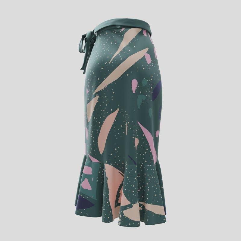 design your own flounce skirt