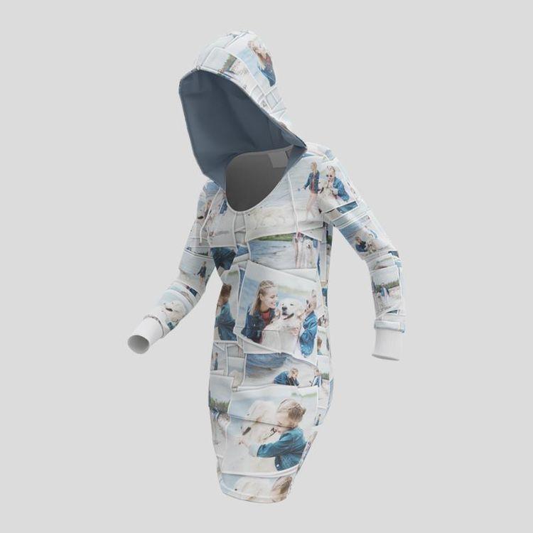 hoodie kleider bedrucken