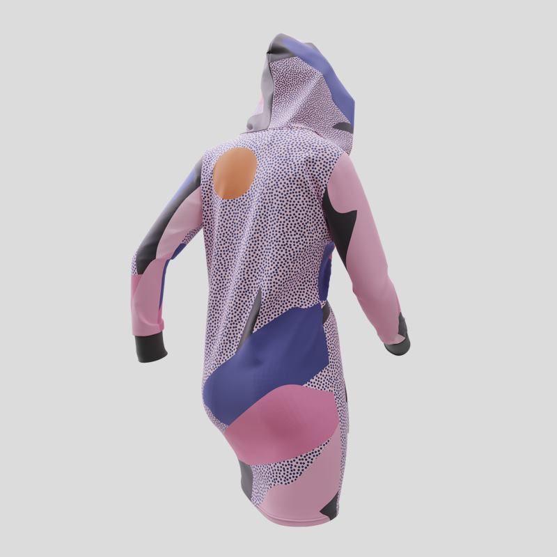custom made hoodie dress