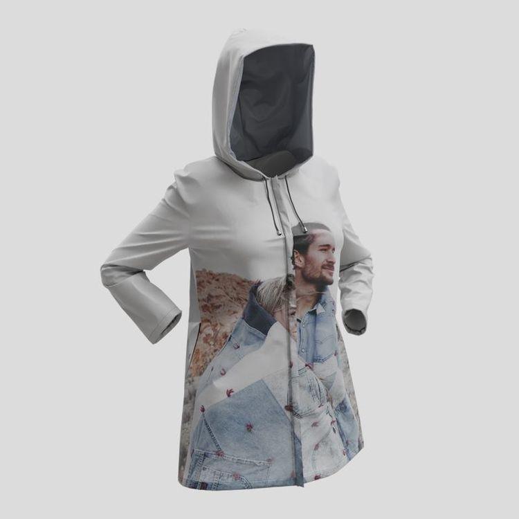 custom rain jacket