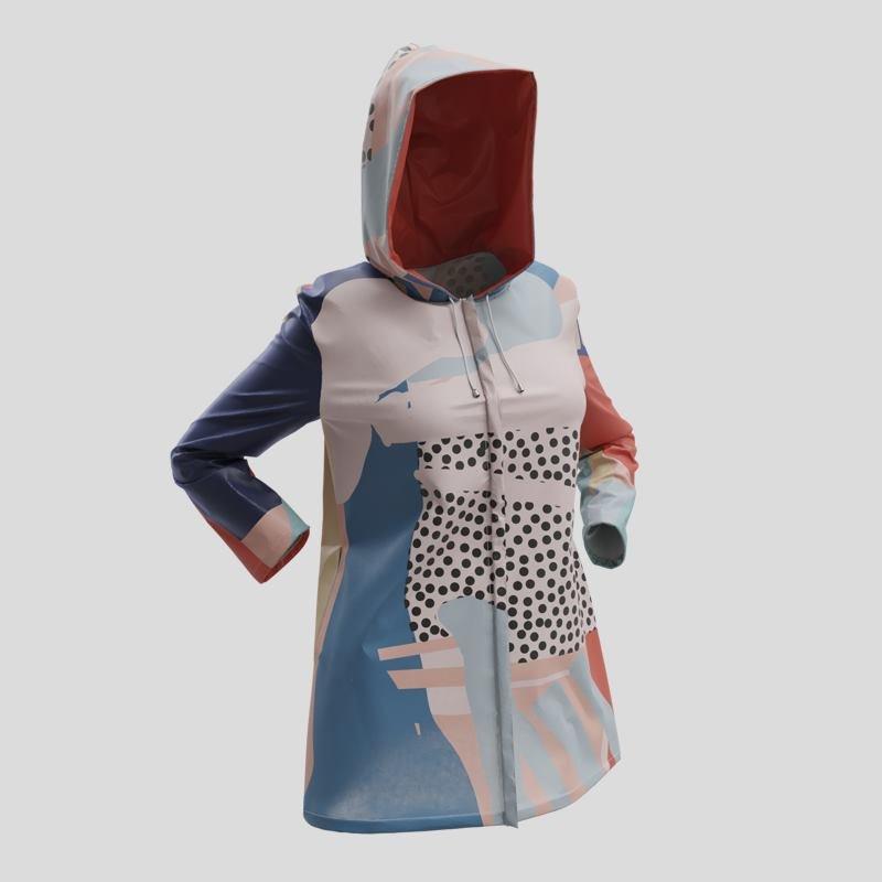 custom printed rain jackets