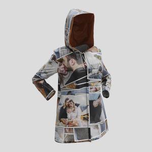 personalised rain coat