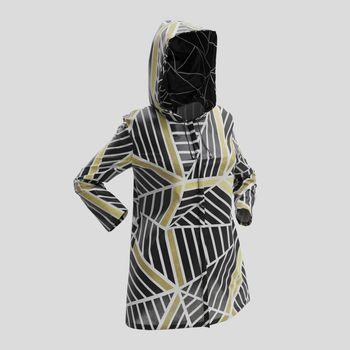 Veste imperméable avec design