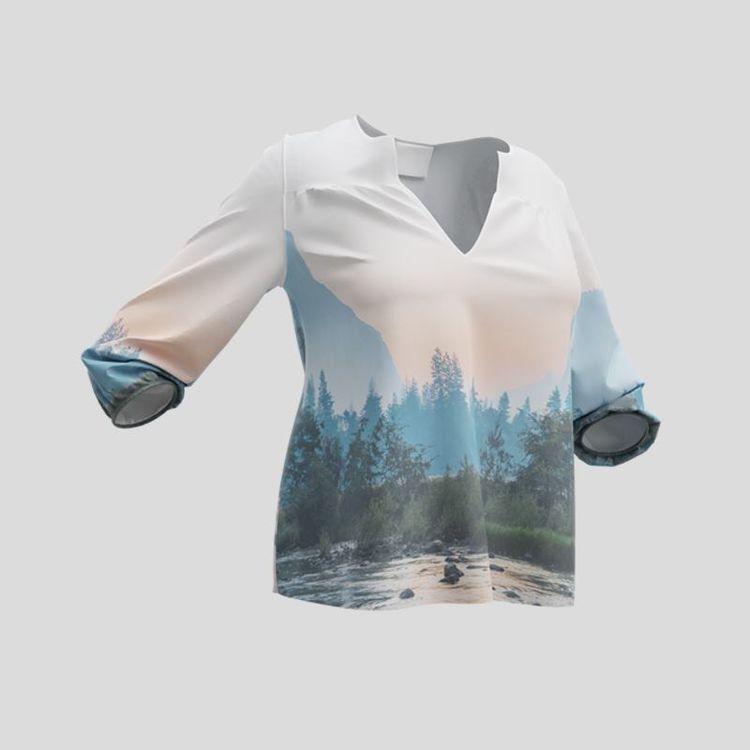 Diseña tu propia blusa personalizada