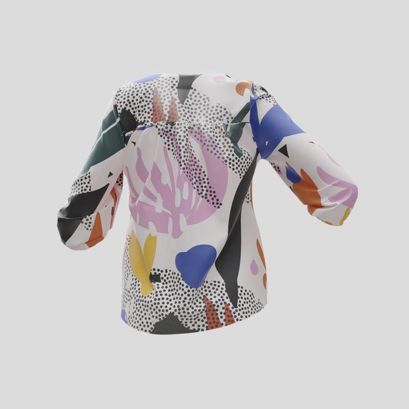 customized blouse