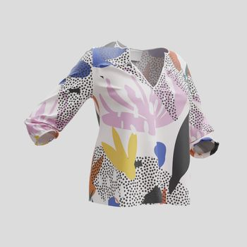 custom womens blouse