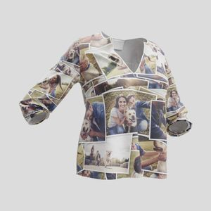 personalized women's blouse