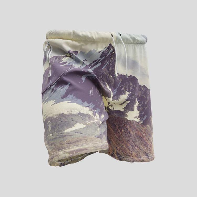 personalised gym shorts