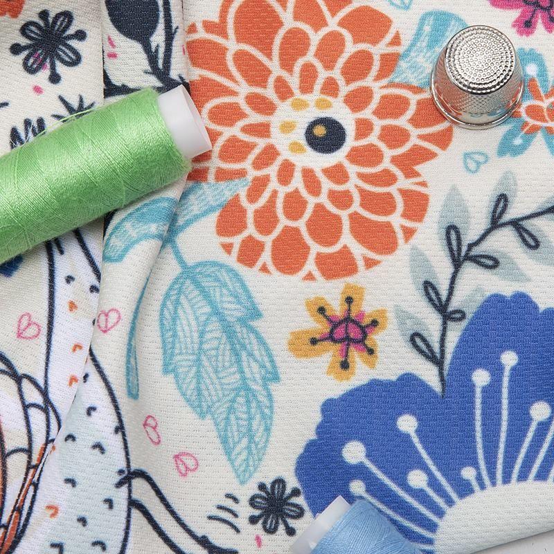 Air Flow breathable print fabric