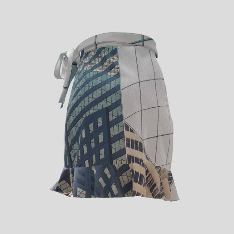 personalized flounce skirt pattern