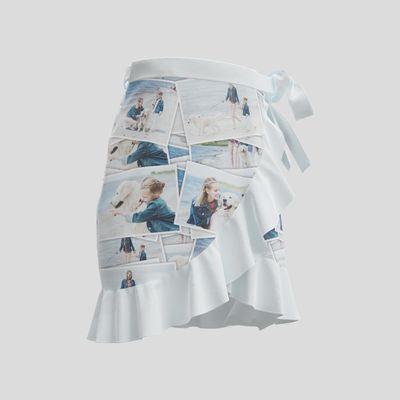 Falda con volantes corta personalizada