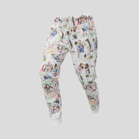 Men's printed pants