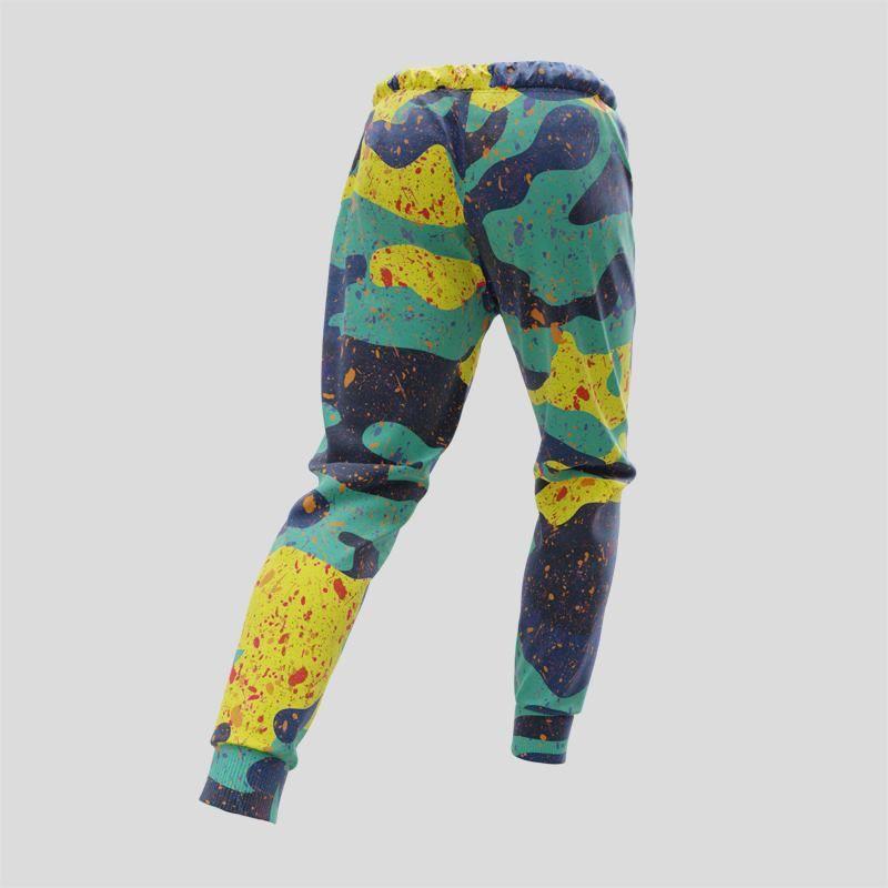 Impression sur pantalon de jogging