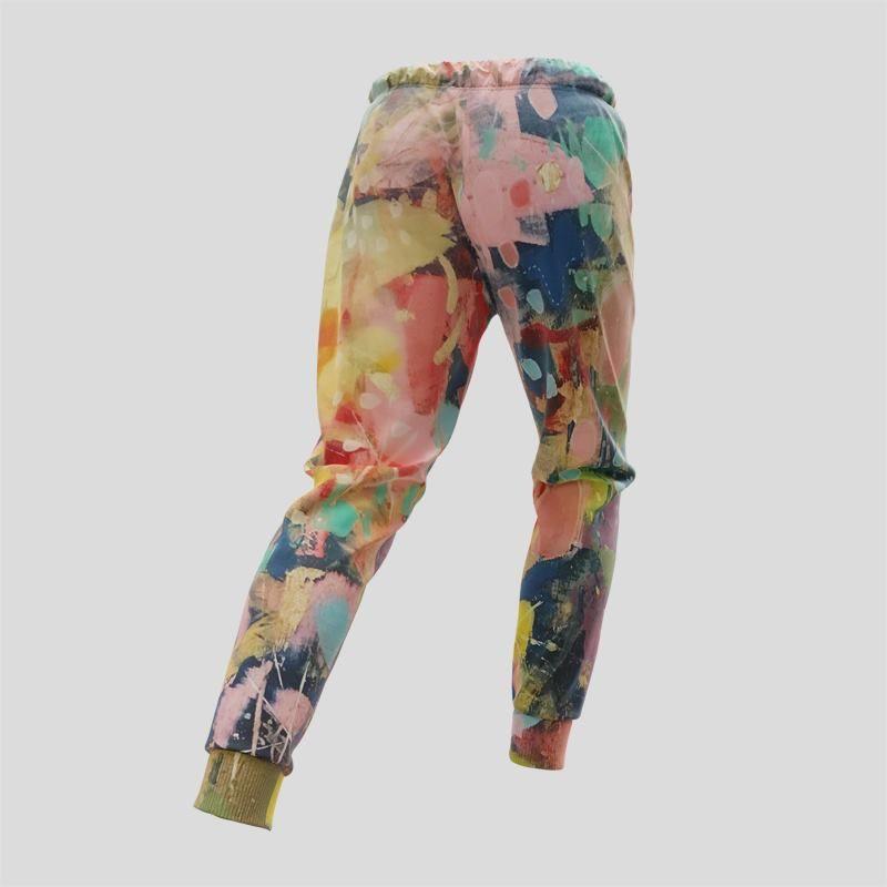 ランニングスボンをデザイン