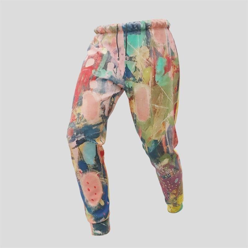 custom printed track pants