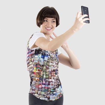 T-shirt femme personnalisé coupe cintrée