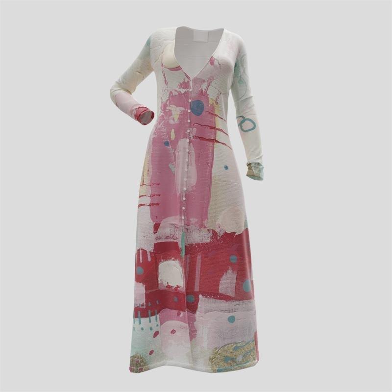 design your own button through dress