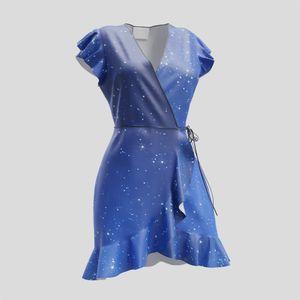 personalized womens tea dress
