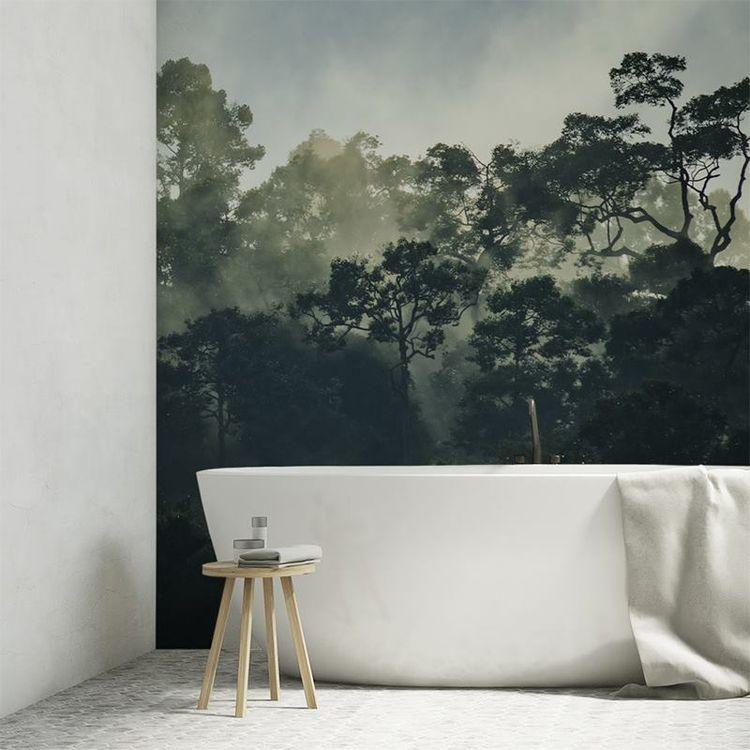 waterproof wallpaper for bathroom