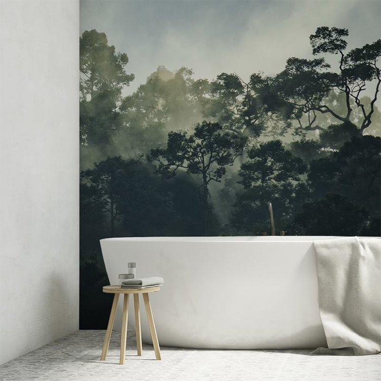 Waterproof Wallpaper For Bathroom. Bathroom Wall Coverings