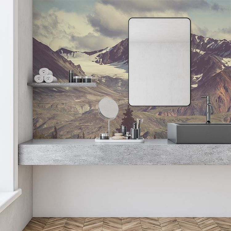Wasserfeste Badezimmertapete