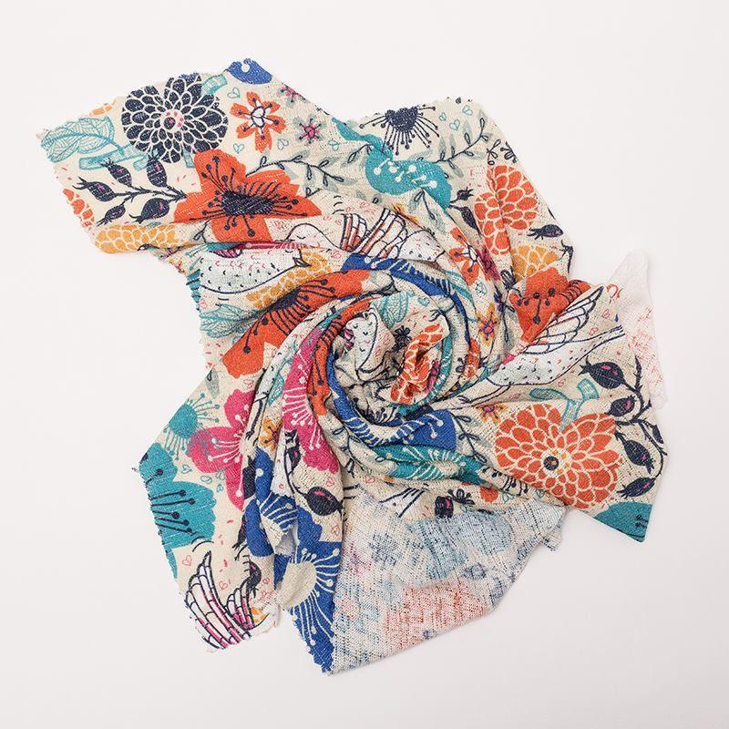 Impression sur Jersey tricot en couleur