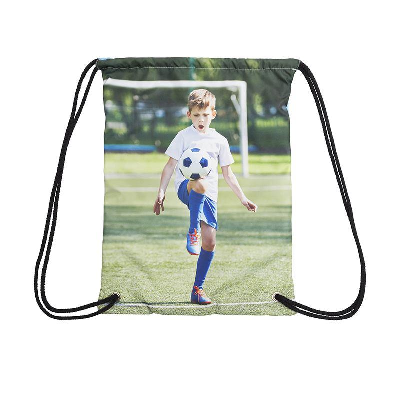 Childrens School PE Sports Boots Class Name Personalised Custom Drawstring Bag