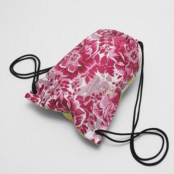 custom printed drawstring bag for sports