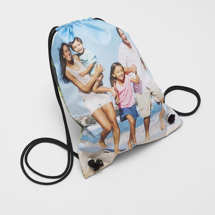 custom printed PE bag family photo