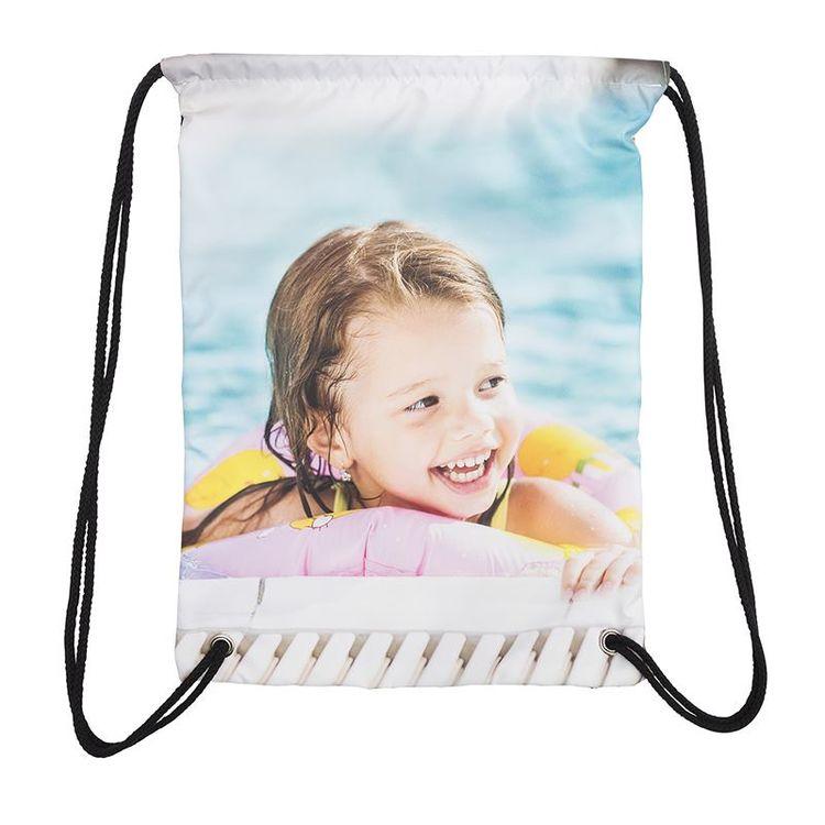 水泳バッグ 印刷
