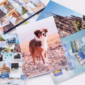 libreta de bolsillo con fotos collage