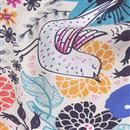 dettaglio stoffa twill di seta