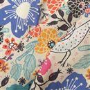 Impresión textil en sarga de seda