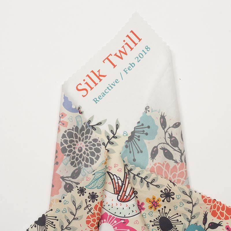 silk twill material