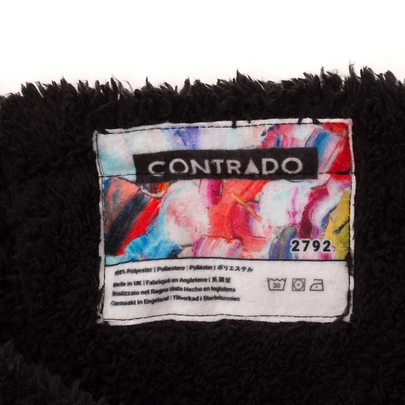 Personlig etikett halsduk med eget tryck