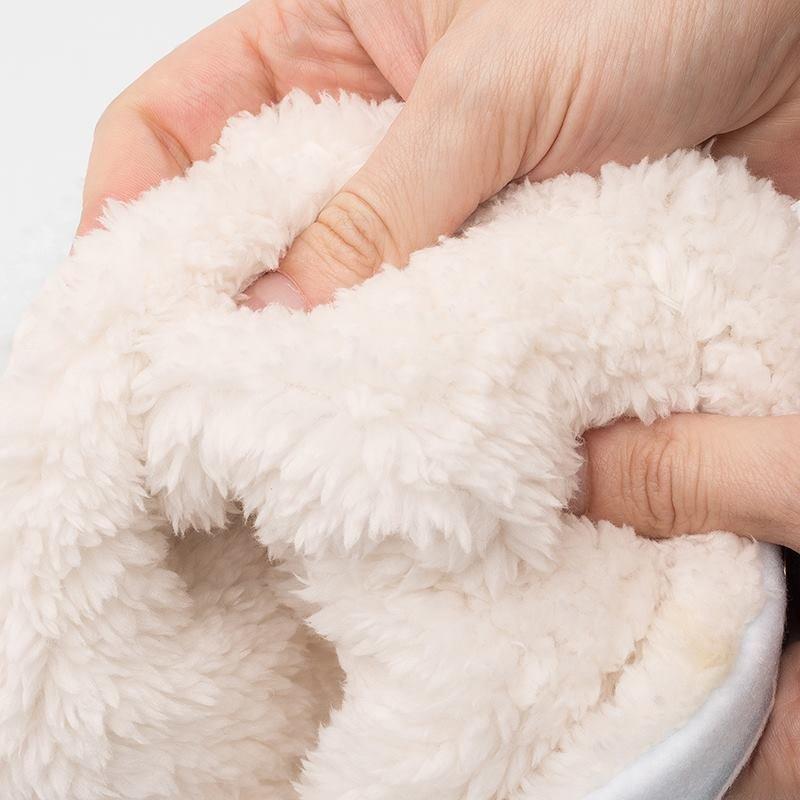 morbido pile all'interno della sciarpa ad anello personalizzata