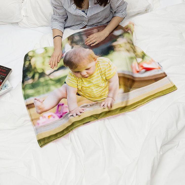 babydecke bedrucken online