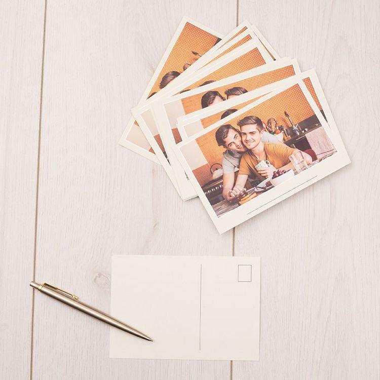 personalised photo postcards