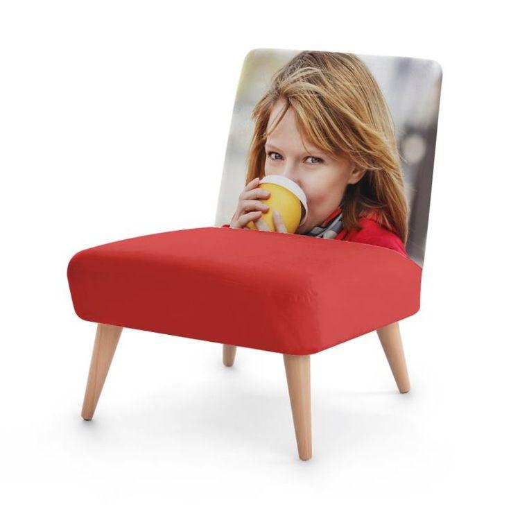 sillón butaca personalizada fotos
